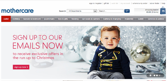 Mothercare Channel Advisor Integration